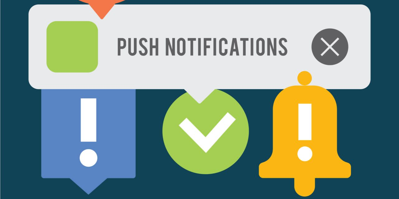 How will ads in iOS push notifications change mobile marketing?