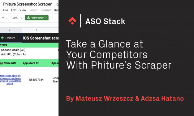 Take a Glance at Your Competitors With Phiture's Scraper