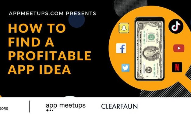 How to find a profitable app idea EVENT