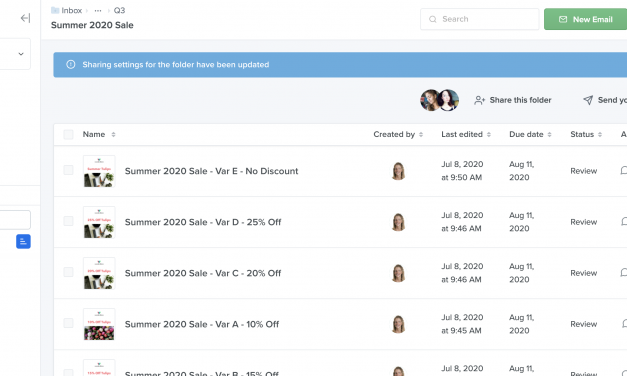 Make Email Collaboration Easier and Faster with Folder Sharing in Litmus