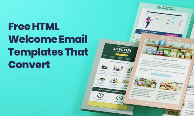 Free HTML Welcome Email Templates Proven to Convert