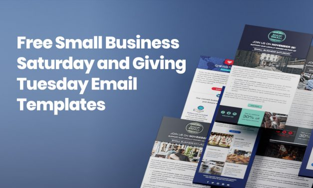 Small Business Saturday & Giving Tuesday Email Templates