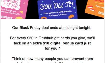 2020 Black Friday & Cyber Monday Email Examples and Insights