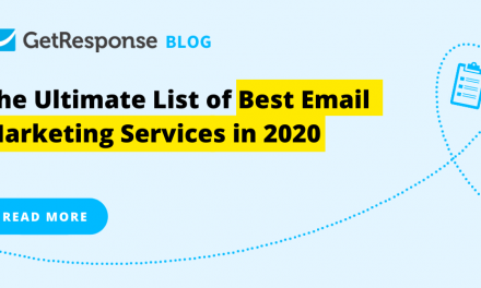The Ultimate List of Best Email Marketing Services in 2020