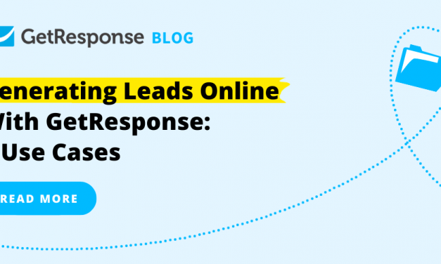 Generating Leads Online With GetResponse: 5 Use Cases