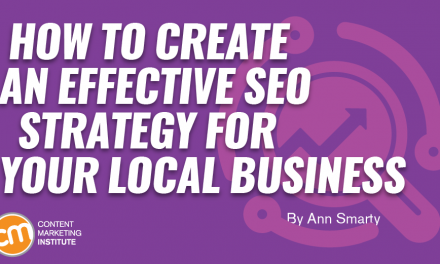 How to Create an Effective SEO Strategy for Your Local Business