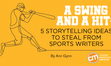 5 Storytelling Ideas to Steal From Sports Writers