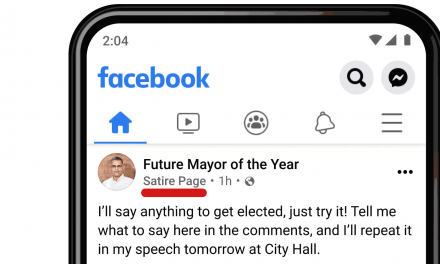 Facebook Adding Context Labels to Pages Seen in News Feeds