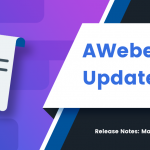 New Features: Vertical Menu, 2-Step Landing Pages, & More