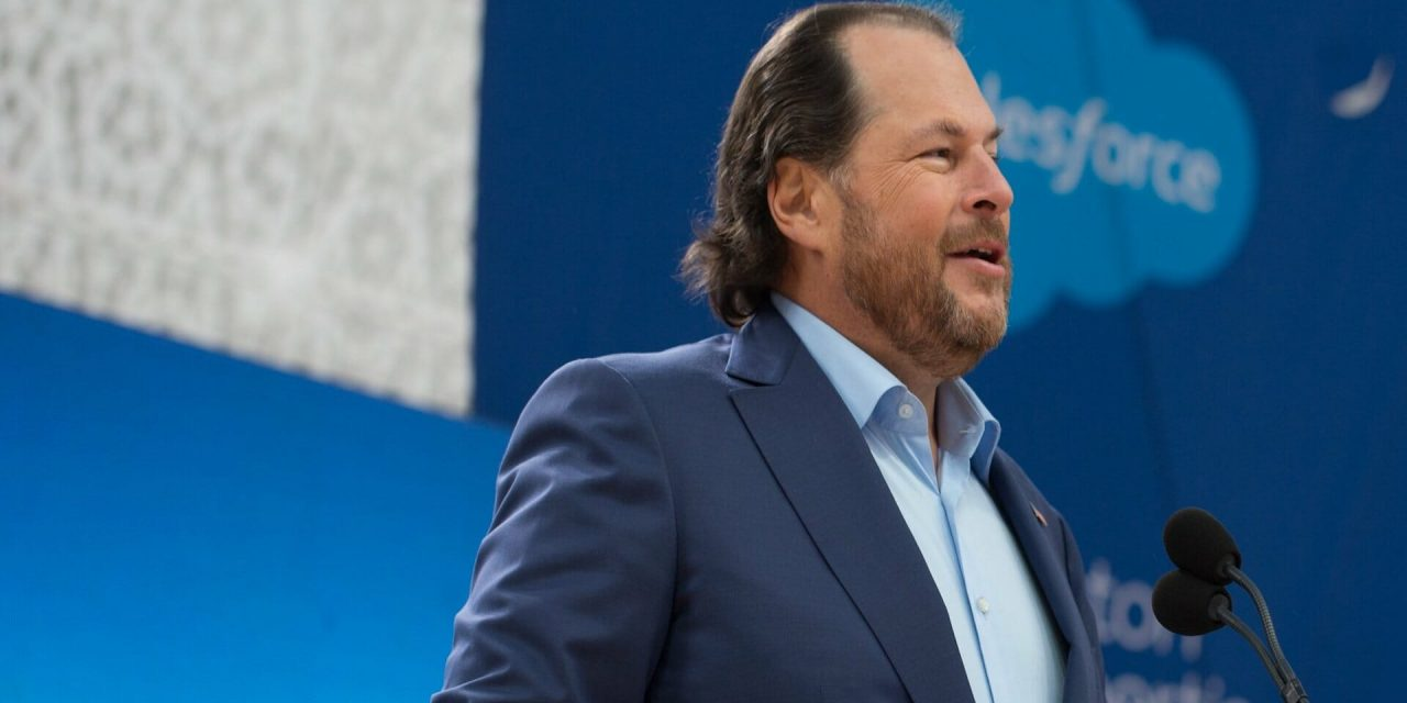 Benioff beats up on Facebook: Monday's Daily Brief