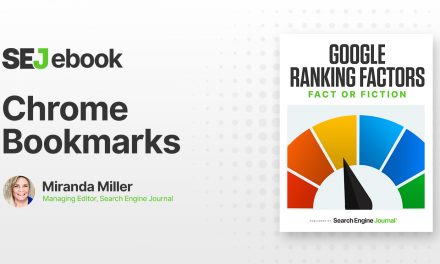 Are Chrome Bookmarks a Google Ranking Factor?
